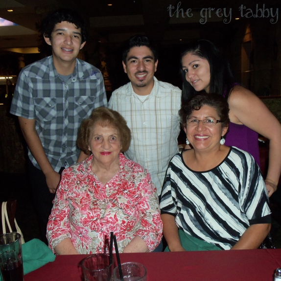 Dinner with the family at a local churrascaria