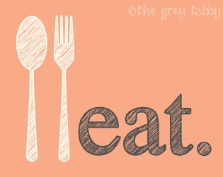 Free Kitchen Printables from thegreytabby.com - Eat, Drink, and Be Merry