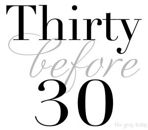 Thirfy before 30
