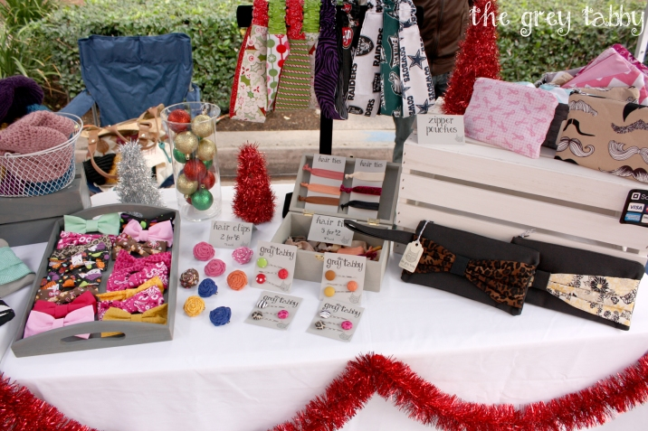 Downtown Anaheim Tree Lighting 20012 - The Grey Tabby Booth